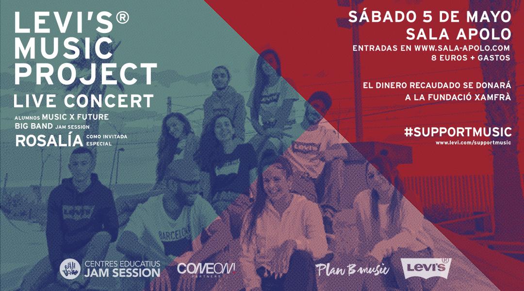 LEVI´S®_ Producimos el Concierto final del Levis® Music Project con Rosalía y los alumnos…